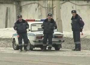 Саяногорские госавтоинспекторы вышли на утренний рейд