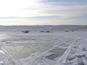 Озера в окрестностях Саяногорска пока безопасны для рыбаков