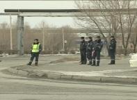 ГИБДД Саяногорска устанавливает виновника ДТП