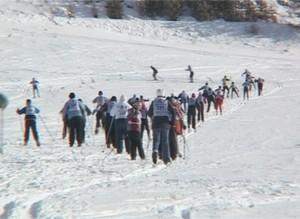 Саяногорские пожарные стали третьими в лыжных гонках