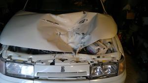 На трассе Саяногорск – Черемушки автомобиль попал под обвал