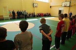 В школе Черемушек обновили спортзал