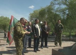 Саяногорские пограничники принимают поздравления