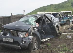 В поселке Майна произошло серьезное ДТП. Есть погибшие