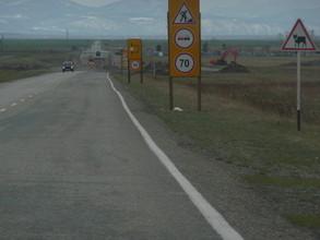 Ремонтные работы на трассе Абакан — Саяногорск на время приостановлены
