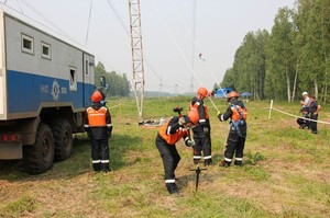 Команда Хакасского предприятия МЭС стала лучшей в Сибири