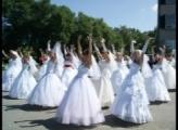 В Саяногорске прошел парад невест