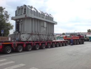 На СШГЭС едут трансформаторы - автолюбителям вновь придется терпеть неудобства