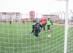 Саяногорцы проводят лето вместе с футболом