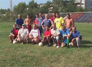 Ветераны саяногорского футбола завоевали бронзу