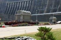 Саяно-Шушенская ГЭС спустя три года после аварии