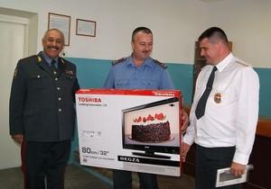 Сотрудник ОВО Саяногорска удостоен награды за спасение человека