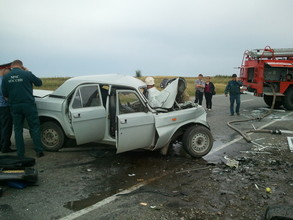 На въезде в Саяногорск произошло страшное ДТП