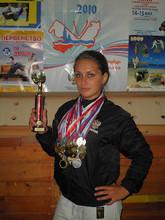 Саяногорская дзюдоистка привезла домой бронзу