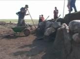 В Саяногорске продолжаются раскопки древнего кургана