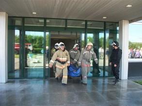 Пожарной охране Саяногорска - 40 лет