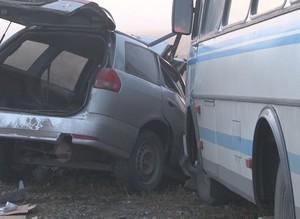 Количество пострадавших в утренней аварии на трассе Саяногорск - Абакан выросло