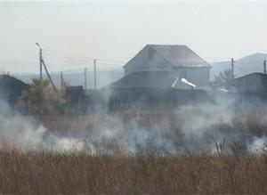 Похолодание повышает пожароопасность