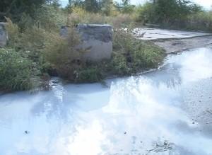 Саяногорск заливают молочные стоки