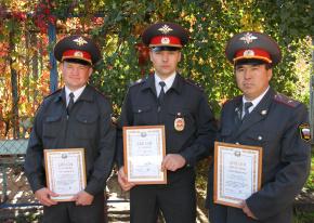 Саяногорский полицейский стал лучшим наставником МВД