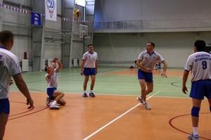 Команда ХПМЭС победила в волейболе