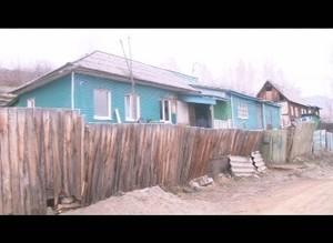 В поселке Майна горел жилой дом