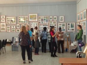 При поддержке Саяно-Шушенской ГЭС в Саяногорске открылась выставка «Енисей – Жемчужина Саян»
