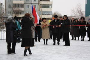 У Саяногорского политехникума появилась спортплощадка