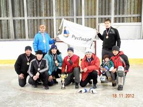 Команда СШ ГЭС стала победителем хоккея «на валенках»
