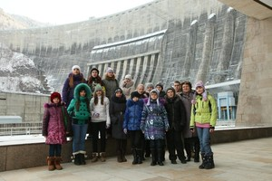 СШГЭС посетили юные журналисты Саяногорска