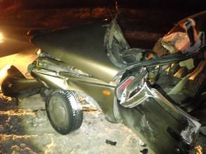 В ДТП на трассе Саяногорск - Черемушки погиб водитель