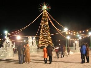 Завтра в Саяногорске откроется главная городская елка