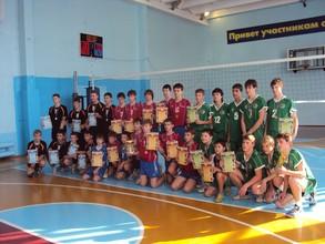 Волейболисты из Черемушек выступили на Первенстве Сибири