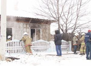 В Саяногорске выгорела комната частного дома