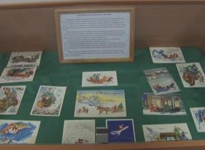 В Саяногорском краеведческом музее открылась выставка «Открытка из прошлого»