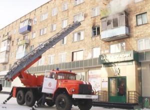 В Саяногорске в результате пожара погибла женщина