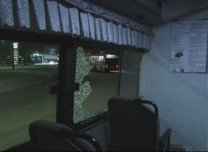 В Саяногорске неизвестные обстреляли два рейсовых автобуса