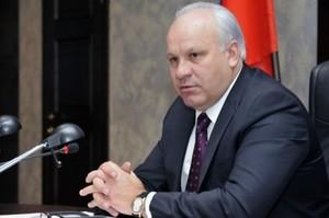 """Виктор Зимин: """"Федеральный центр выделит субсидии на реконструкцию трассы Абакан-Саяногорск"""""""