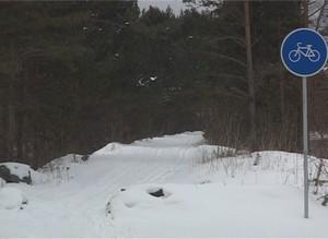 В Черемушках появилась новая лыжная трасса