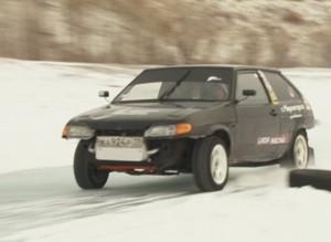 Первый этап ледовых гонок «Саянский лед» собрал рекордное количество участников и зрителей
