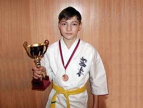 Юный каратист из Черемушек стал бронзовым призером Первенства Алтайского края