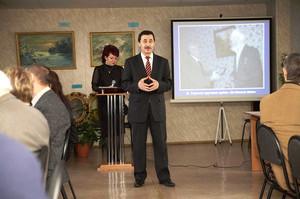 В Саяногорске прошел вечер, посвященный 85-летию со дня рождения Генриха Батца