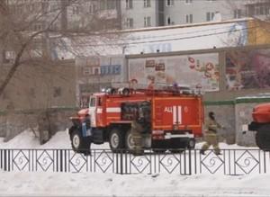 Пожар в кинотеатре «Альянс» – учения саяногорских огнеборцев