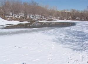 Спасатели предупреждают – состояние льда на Саяно-Шушенском водохранилище ухудшилось