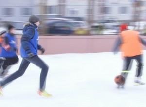 В Саяногорске открылась новая дворовая спортплощадка