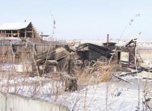 Пожар в Новоенисейке. В огне погибли люди