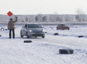В Саяногорске прошел второй этап чемпионата по кольцевым гонкам «Саянский лед»