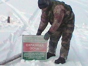 Рыбаки на льду наловили штрафы