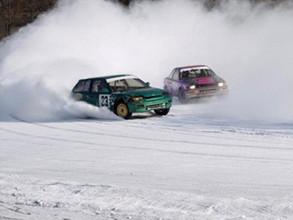 Тонкий лед не выдержал саяногорских автогонок