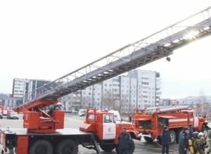 В Саяногорске прошли очередные противопожарные учения